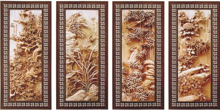 杭州仿古挂件梅兰竹菊