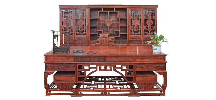 武汉仿古家具-桌柜