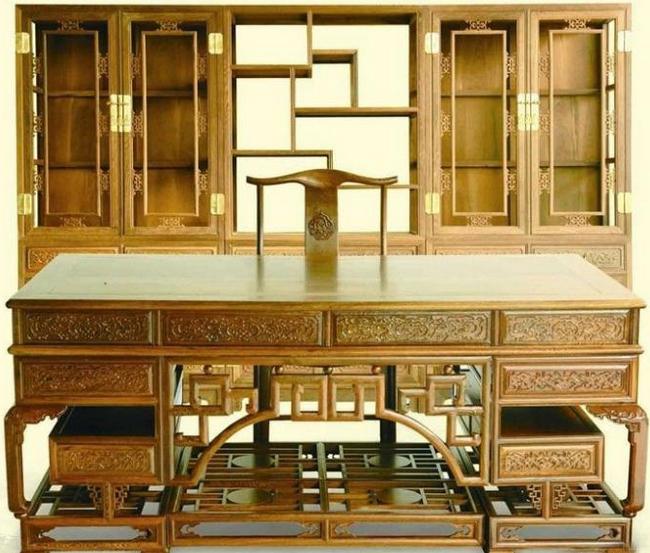 仿古家具-书桌